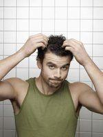Quais são os tratamentos para um couro cabeludo queimado?