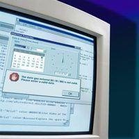 O que faz com que um erro de registro mestre de inicialização?