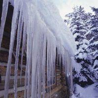 O que faz com que uma barragem de gelo em um telhado?