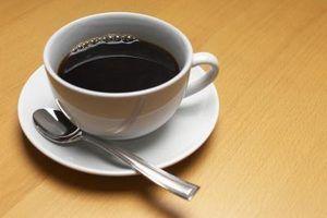 O que faz com que a escória café?
