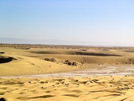 O que faz com que os desertos para formar?