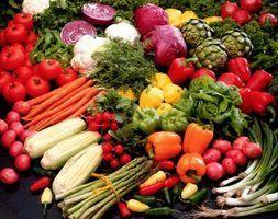 O que faz com que frutas e legumes para obter a sua cor?