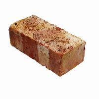 O que causa a pavimentação de tijolo vermelho a desvanecer-se a giz branco na superfície?