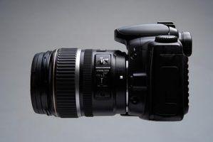 O que faz com que as imagens de uma câmera digital slr para se tornar granulada?