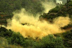 O que produtos químicos são usados para apagar incêndios florestais