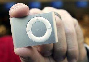 O que significa quando um ipod shuffle pisca em laranja e verde?