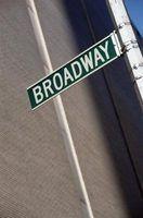 O que é uma dança da broadway?