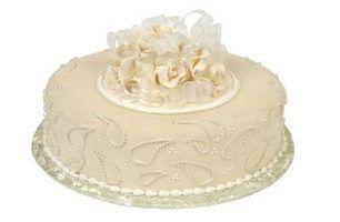 O que é crosta de gelo sujo na decoração do bolo?