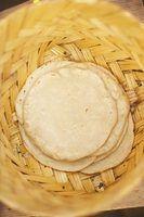 Qual é a diferença entre tortillas de farinha e pão sírio?
