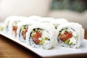 Qual é a diferença entre o sushi & sashimi?
