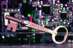 Qual é o significado de segurança da internet?