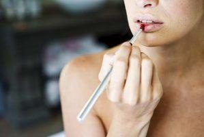 Quais as cores lábio são melhores para uma pele quente?