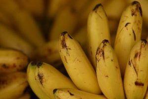 O que fazer com bananas negras?