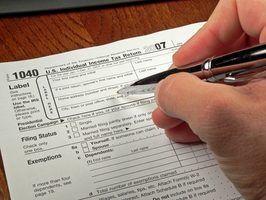 Que tipos de coisas que eu posso apresentar em meus impostos?