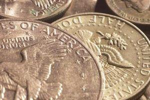 Quais moedas são feitas de prata?