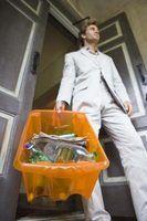 Quais os itens que não podem ser reciclados?
