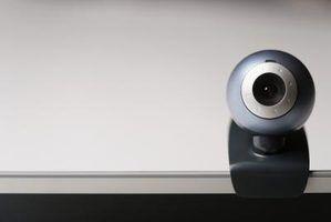 Por que não a minha webcam funciona com o skype?