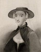 Chapéus das mulheres nos anos 1700